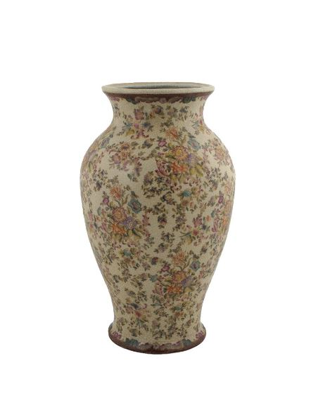 Vase en porcelaine: Vase queue de poisson 36cm -Delicia