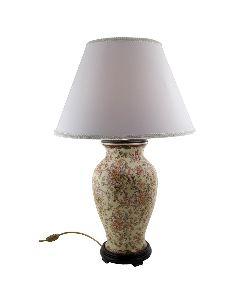 Pie de lampara de porcelana. Pie de lámpara jarrón 42cm -Delicia