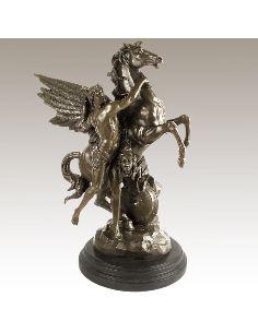 Figura de Bronce. Perseo con Pegaso