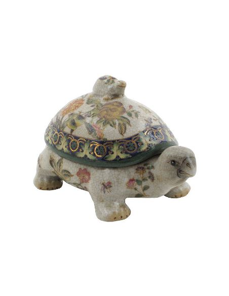 Tortuga de porcelana. Tortuga 18cm -Milex