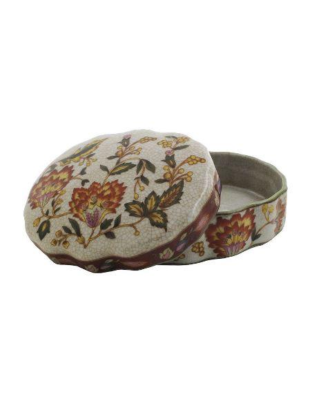 Caja de porcelana. Caja ondulada 13cm -Hiti
