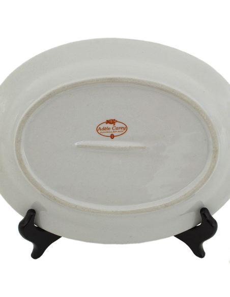 Plat en porcelaine: Plat ovale 26cm -Blanco