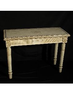 Mueble de Hueso. Consola rectangular 112,5cm.